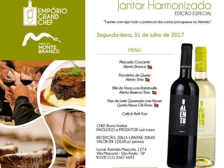 Jantar Harmonizado / Edição Especial / 31.julho.2017